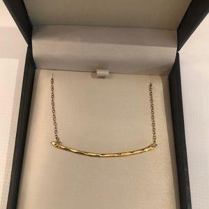Georjana gold bar necklace